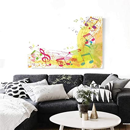 Amazon.com: Warm Family Music Decor Canvas Wall Art for ...