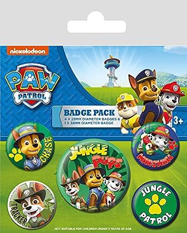 Pusheen Says Hi Lot de Badges multicolore 10x 12.5cm Pyramid International BP80624