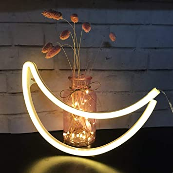 Amazon.com: Sunnyglade - Luces decorativas de neón con luz ...