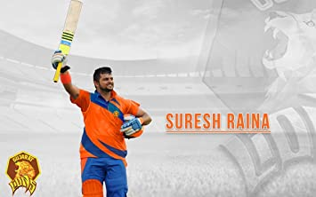 Ipl Team Suresh Raina New Wallpapers Poster On Fine Art Paper 13x19