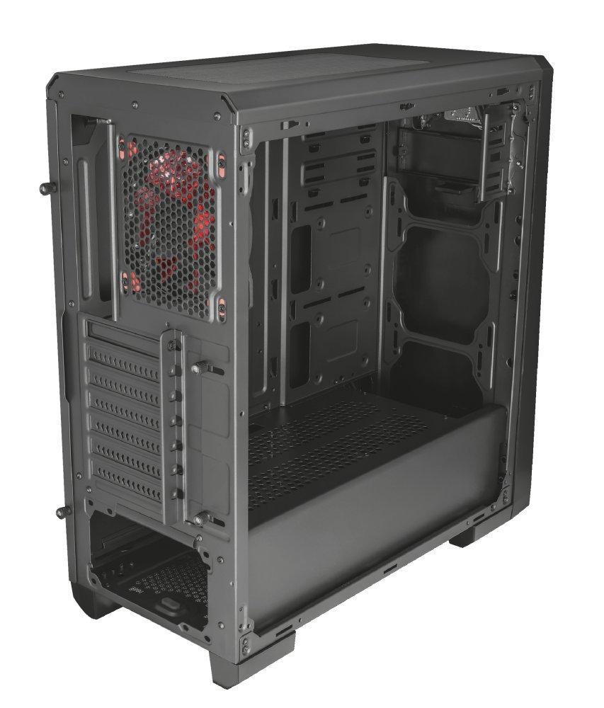 Trust Gaming GXT 1110 - Carcasa de PC Mid-Tower ATX con Ventana, Color Negro: Amazon.es: Informática