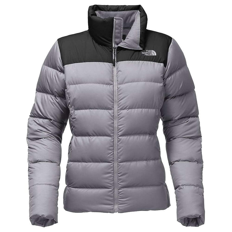 ノースフェイス アウター ジャケットブルゾン The North Face Women's Nuptse Jacket Mid Grey / 18f [並行輸入品] B0761RXXHT