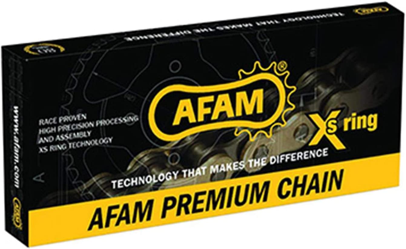 AFAM Chaine Moto 520 114 MAILLONS MX RENFORCEE OR