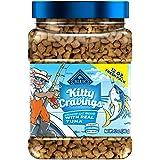 Blue Buffalo Crunchy Cat Treats Kitty Cravings Tuna 12Oz