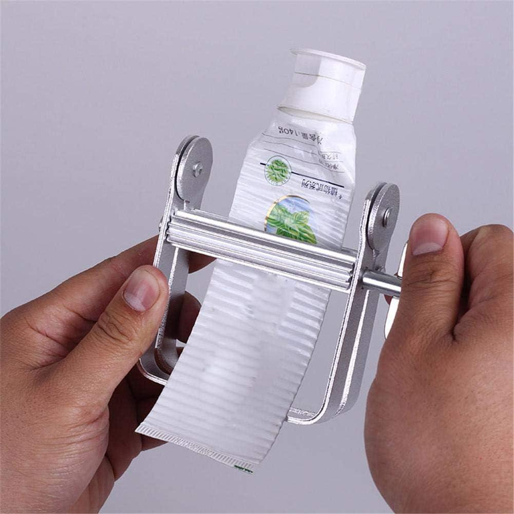 tubetto di tintura per capelli tubo di metallo vernice Spremi dentifricio strumento spremiagrumi in alluminio per spremere dentifricio