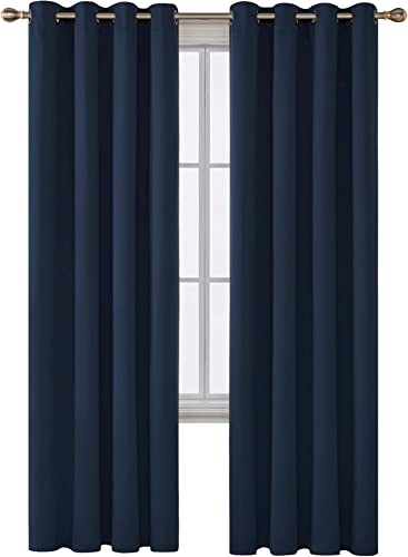 Deconovo Grommet Blackout Curtains Room Darkening Thermal Insulated Curtains - the best window curtain panel for the money