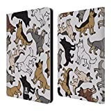Head Case Designs German Shepherd Dog Breed Patterns Leather Book Wallet Case Cover For iPad Pro 9.7 (2016)