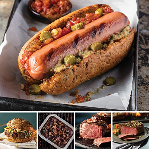 Omaha Steaks Gourmet Grilling Gift Pack Features Filet Mignon, Top Sirloins, Signature Burger, Jumbo Franks and Sweet Bourbon Onions ()