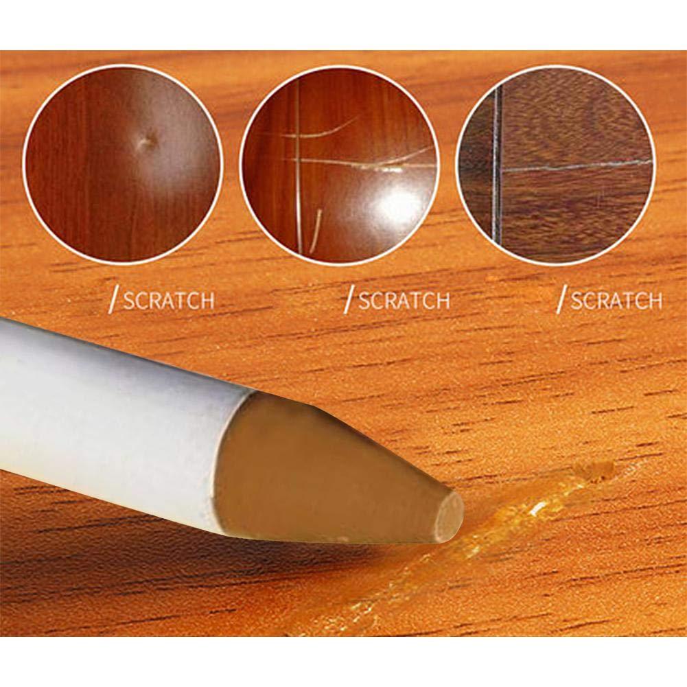 penna di ritocco della mobilia Indicatori di riparazione della penna di colore del grano di legno penne di ritocco della mobilia Indicatori di riparazione di graffio per la riparazione del pavimento