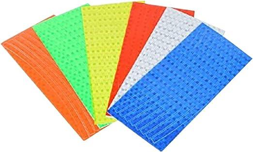 SwirlColor 48 rayas 6 colores fluorescente para bicicleta MTB para ...