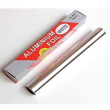 HeyMoly Kitchen Heavy Duty(20u0026#x3BC;m Thick) Aluminum Foil Tin Foil