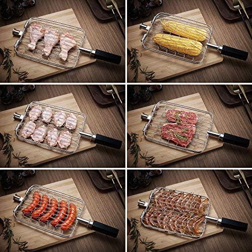 GREADEN Mini Barbecue à Gaz Mobile Beef Chef - Red Dot Award Allemand BBQ Jardin extérieur Camping/Piquenique - Grill Puissant 800°C