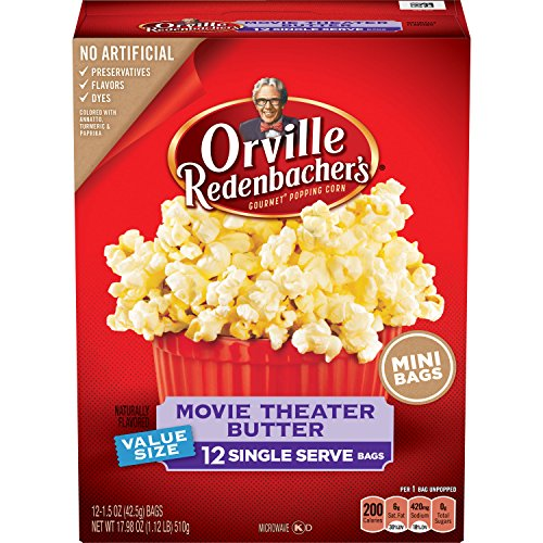 Orville Redenbacher's Movie Theater Butter Popcorn, Singl...
