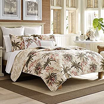 Amazon Com Panama Jack Palm Tree Full Queen Quilt Set