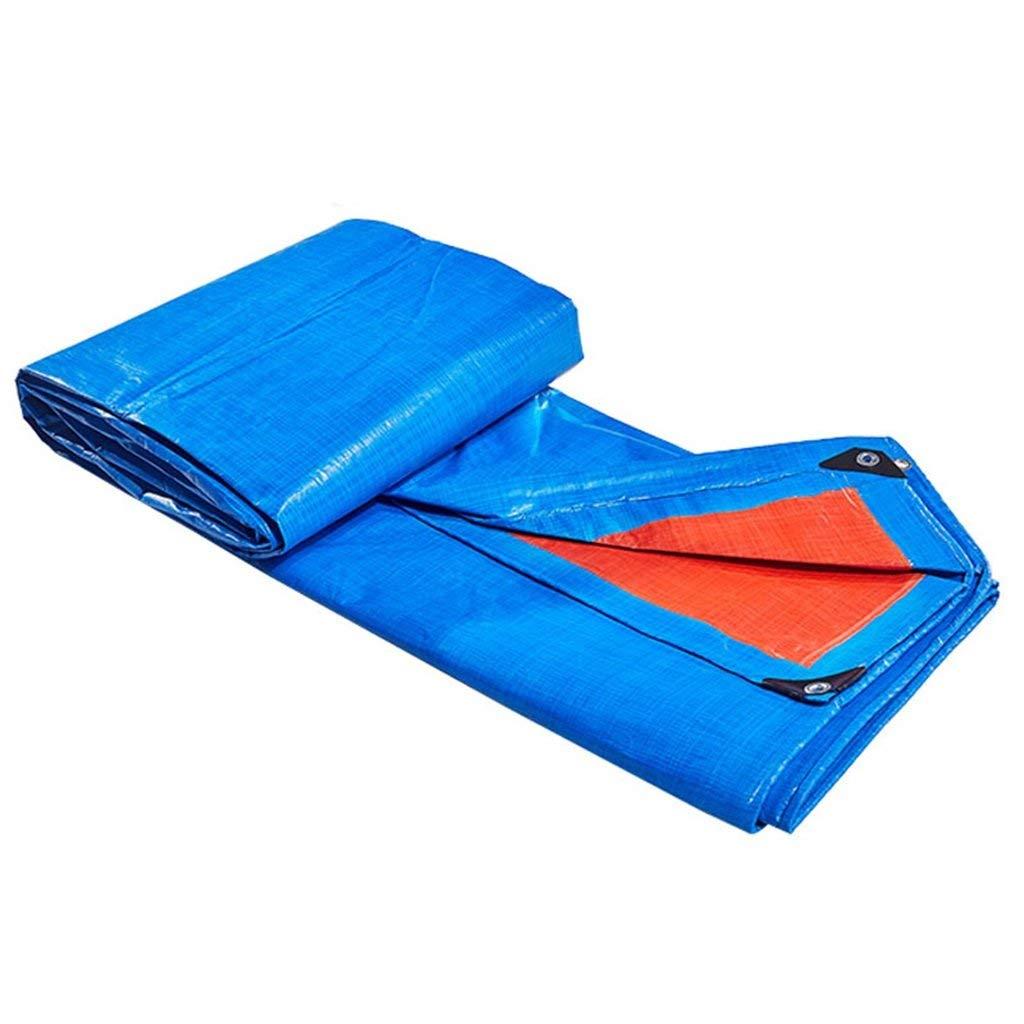 vieni a scegliere il tuo stile sportivo KYCD Telone blu Outdoor Shade Heavy Duty Tarpaulin Tarpaulin Tarpaulin Telo Multifunzione Telo Copertura Giardino Rain Cover Telo, Spessore 0,38 mm, Opzioni Multi-Dimensione (Dimensioni   4MX5M)  shopping online di moda
