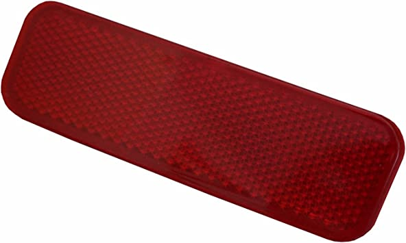 Bross BSP644-1 1 Piece Rear Left Side Bumper Reflector BK21-515C0-AA for Ford Custom 2012-On Bross Auto Parts