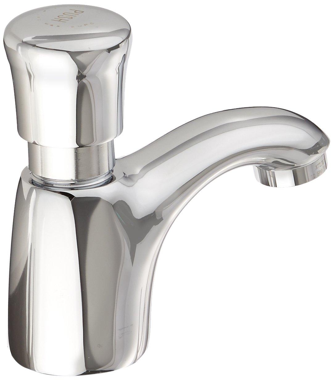American Standard 1340.105.002 Pillar Tap Metering Faucet, Chrome ...
