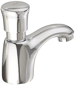american standard pillar tap metering faucet chrome