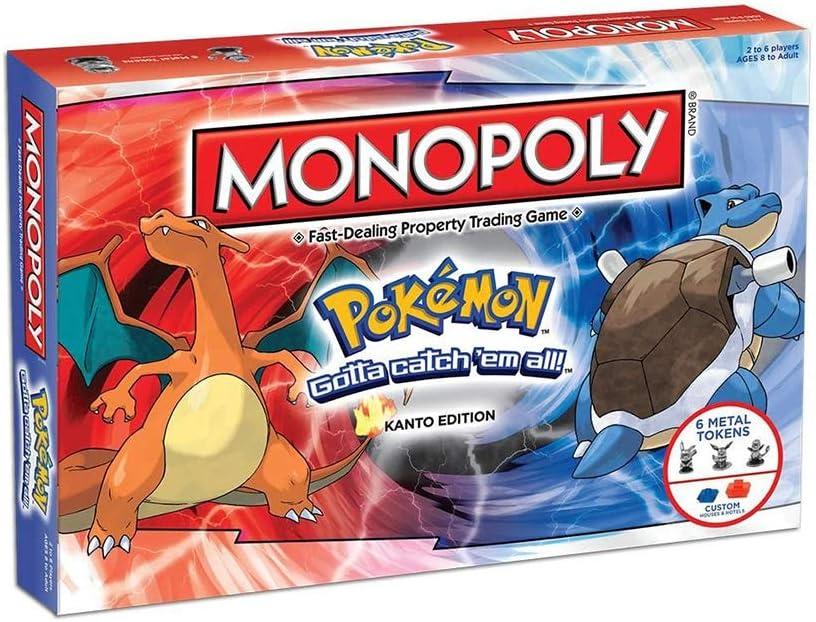 ICVDSRG Monopoly Pokemon Juego De Mesa Juego De Mesa (VersióN En ...