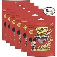 SCHMACKOS Tasty Bites Chewy Beef Dog Treats 6x155g Bag
