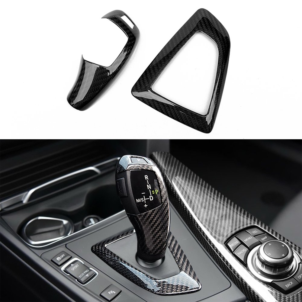 Carbon fiber gear shift knob for BMW 1 2 3 4 5 6 series F20 F22 F30 F32 F36 F10 F12 YOUCHE