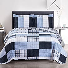 """3pc set Zoe- King/Cal king 110 x 96"""" Size, Over-Sized Quilt, Luxury Microfiber Printed Coverlet Bedspread Sets"""