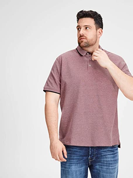 JACK & JONES Polo Paulos Plus (Port Royale, 4XL): Amazon.es: Ropa ...