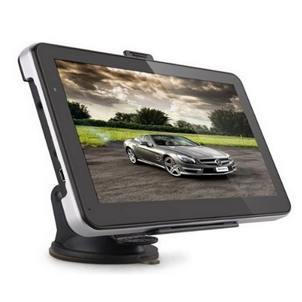 Car GPS Navigation System 7-Inch 8G HD Touch Screen with Lifetime Maps and Traffic MaxShuang