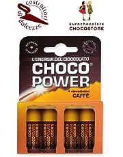 Eurochocolate CHOCOPOWER Cioccolato Fondente al Caffè Confezione 42gr.