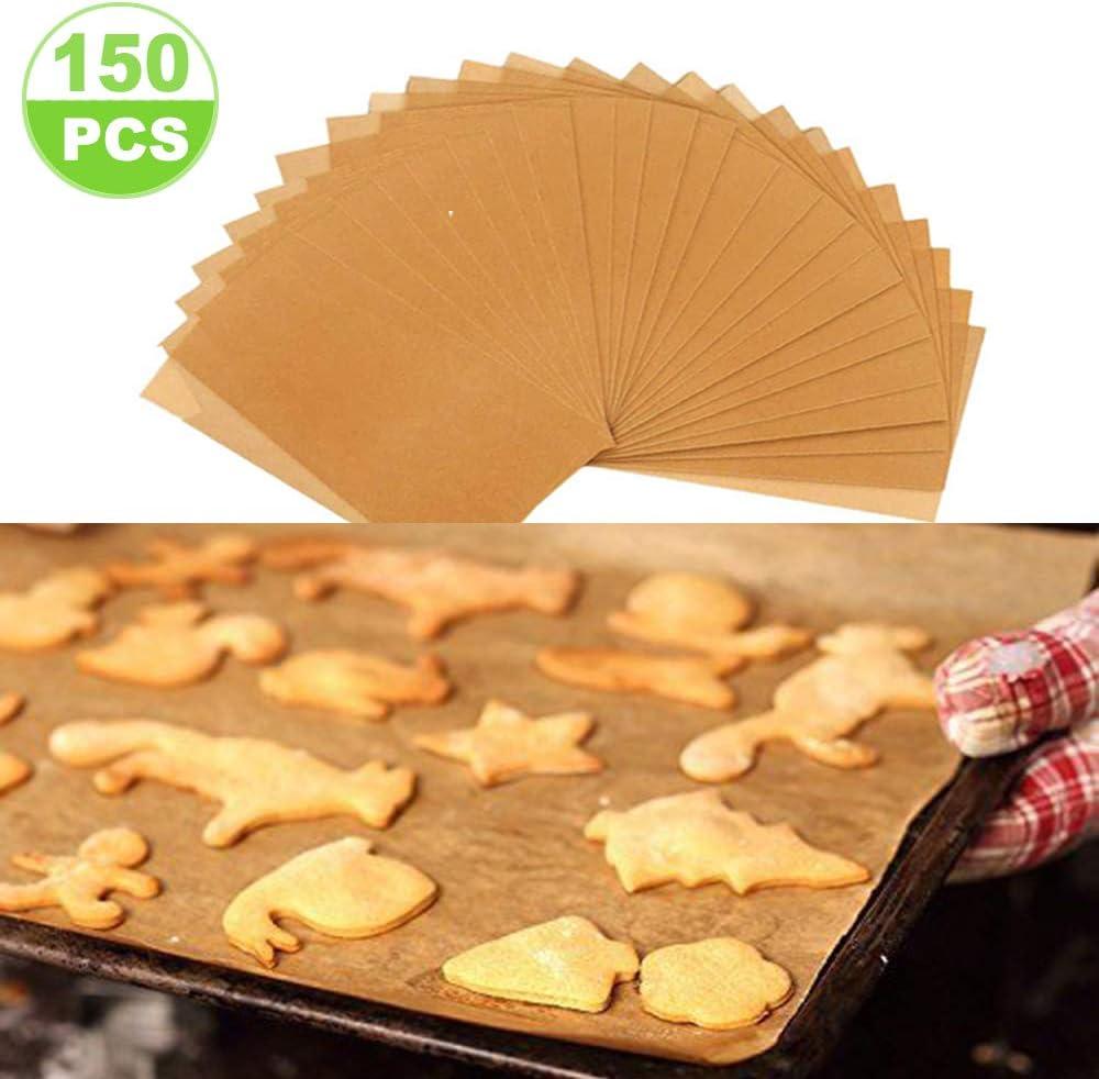 Fit for Your Half Sheet Pans 12x16 Parchment Paper Baking Sheets 150 Pcs Precut Baking Paper Sheets Non Stick and Non Toxic