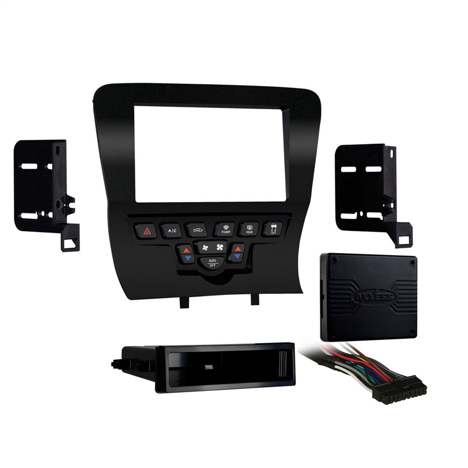 Metra 99-6514B Single/Double DIN Installation Kit for Select 2011-Up Dodge Charger Vehicles