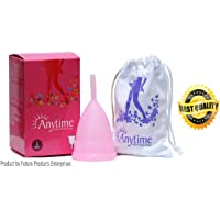 Anytime Menstrual Cup for Women, Size 2, Above 30 Years (Large)
