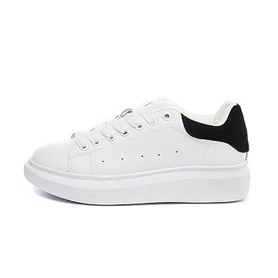 de8c983981213 Amazon.com | Nerefy Genuine Leather Sneakers Women White Shoes ...