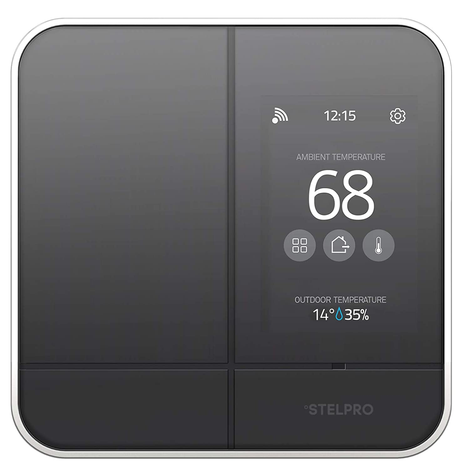 Stelpro ASMC402 Smart Home Wi-Fi Controller Thermostat Adds Maestro Connectivity to Line Voltage Electric Baseboards, Convectors, and Fan Heaters