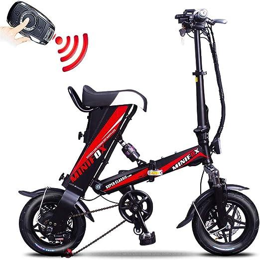 Unisexo Suspensión Bicicleta Eléctrica Plegable - 12