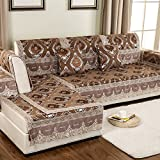 European Style Sofa Pad/Fabric Seat Cushion /Four Seasons Common Sofa Towel/Anti-skidding ,Living Room,Wood Sofa Towel-D