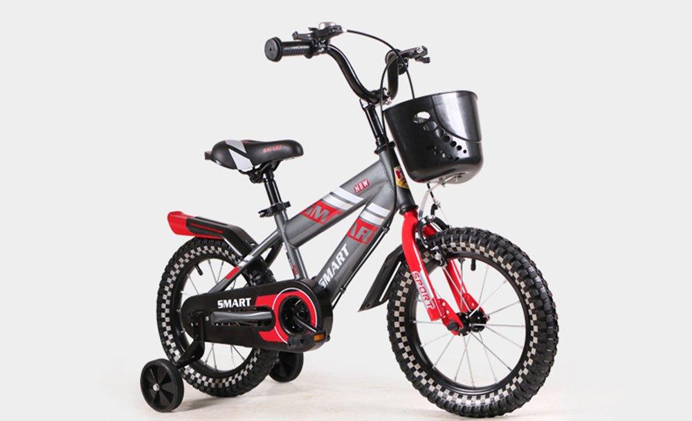 美しい 家子供用自転車、男の子用ベビーカー、女の子用自転車、子供用サイクリング (色 : 赤, サイズ さいず : 115cm) B07CXH7LSJ 115cm|赤 赤 115cm
