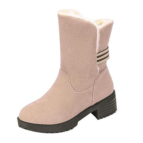 Botines para Mujer, K-Youth® Mujer Clásico Lluvia Nieve Forrada De Piel Zapatos Botas De Nieve: Amazon.es: Zapatos y complementos