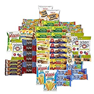 Healthy Munchie Mix Care Package (54 Count) Snack Box, Variety Assortment with Bars and Crunchy Snacks, Boxed Sweet and Salty Healthy Snacks for Lunches, College Students and Office Kid Parties