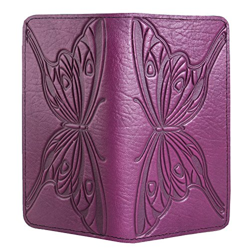 Tooled Leather Checkbook Cover - 3