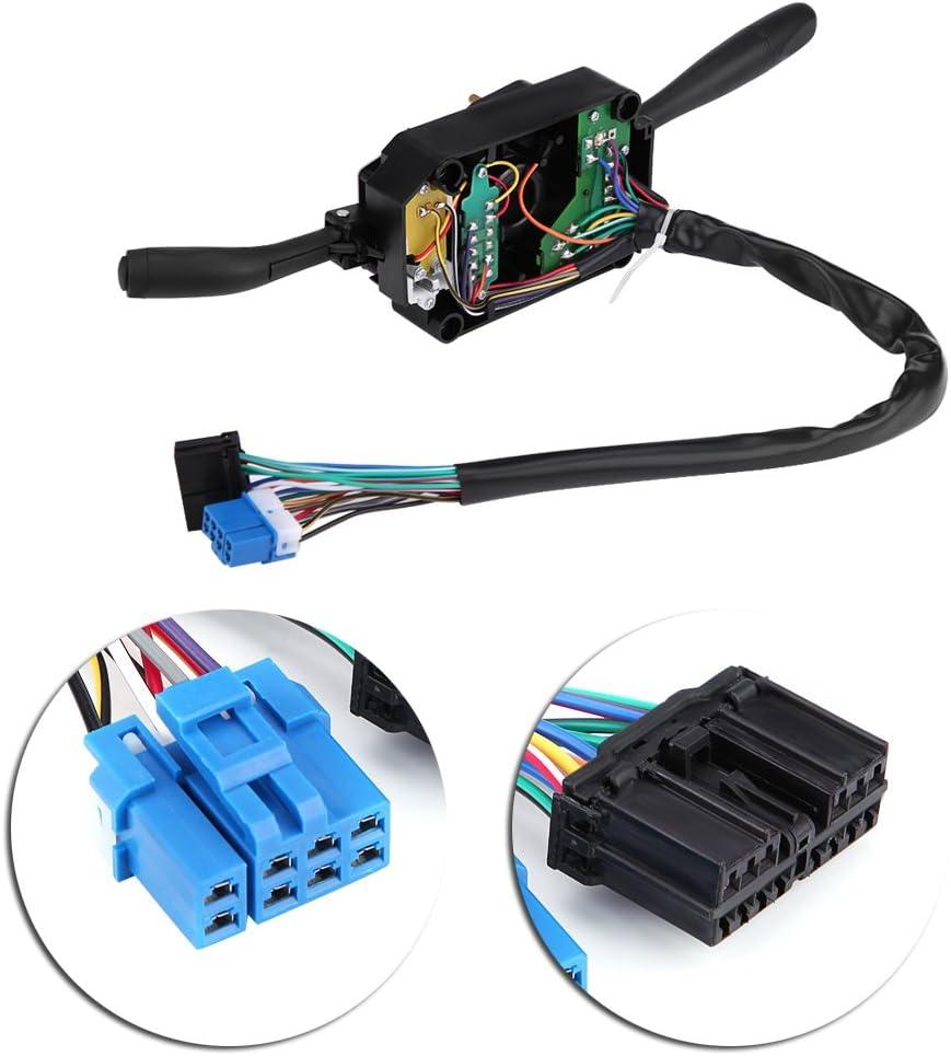 Qiilu Combination Switch for Wiper and Turn Signal Control for Isuzu NPR NPR NQR GMC 8973640740