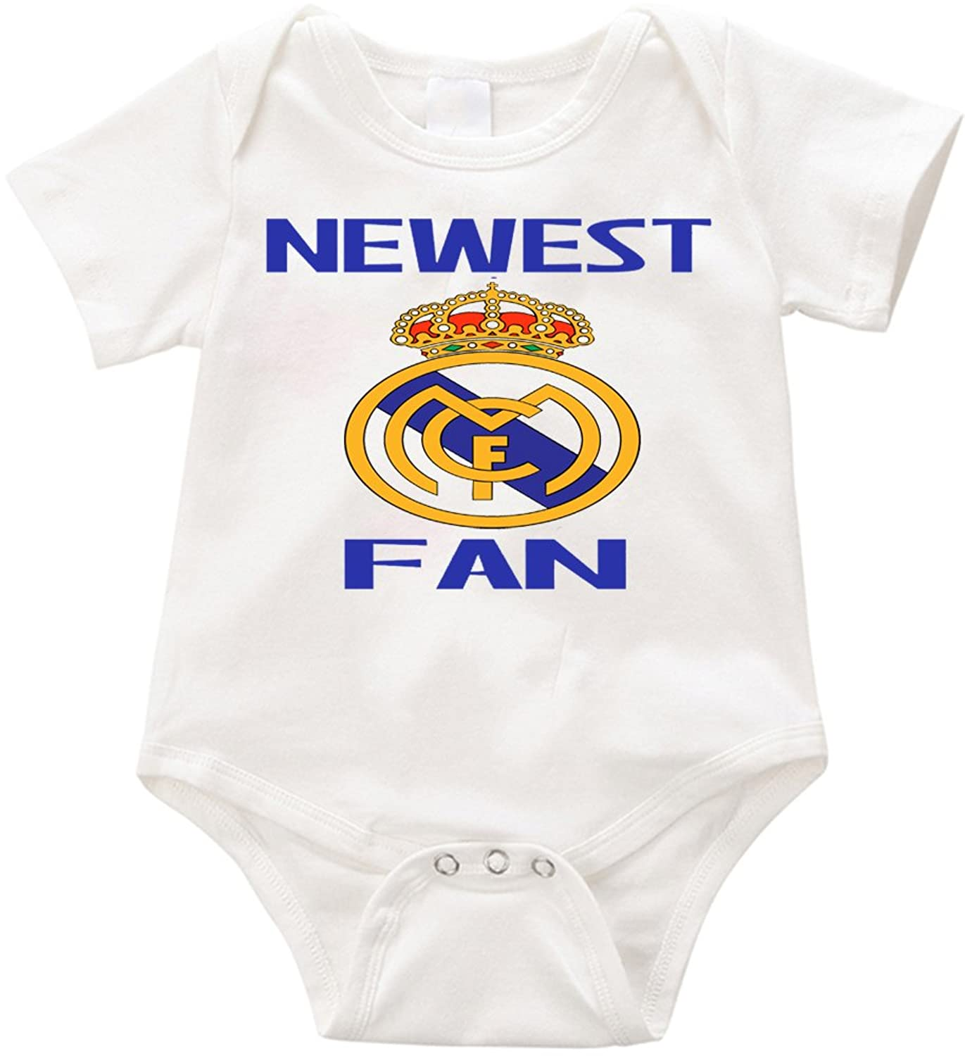 64657952c Official LPM Newest Real Madrid fan Unisex Romper Creeper onesie ...