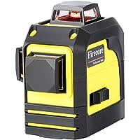 Firecore F93TR 3D Laser Rouge Niveau Système de Nivellement Automatique Laser en Croix avec Sac Souple