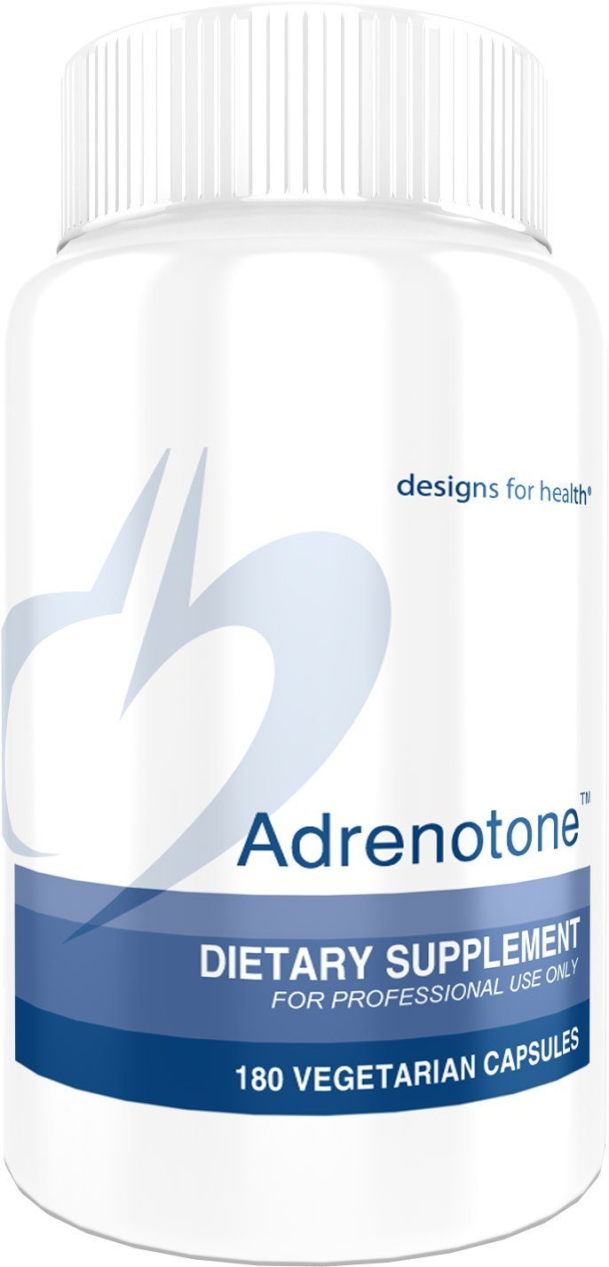 Designs for Health Adrenotone - Adrenal Support Formula with Licorice (180 Capsules)