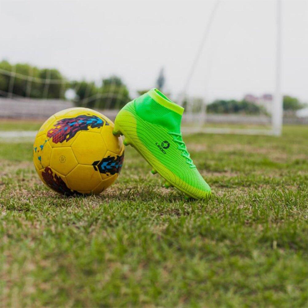 HUAN Botas de f uacute tbol para para para ni ntilde os Unisex Hombres  Zapatos de f uacute tbol ... 828c2baa09052