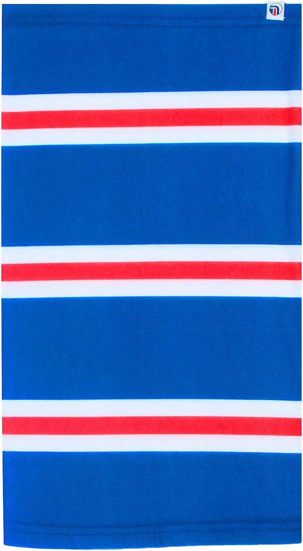 fanoriginals Snood Neck Scarf Blue White Red Rangers Colours