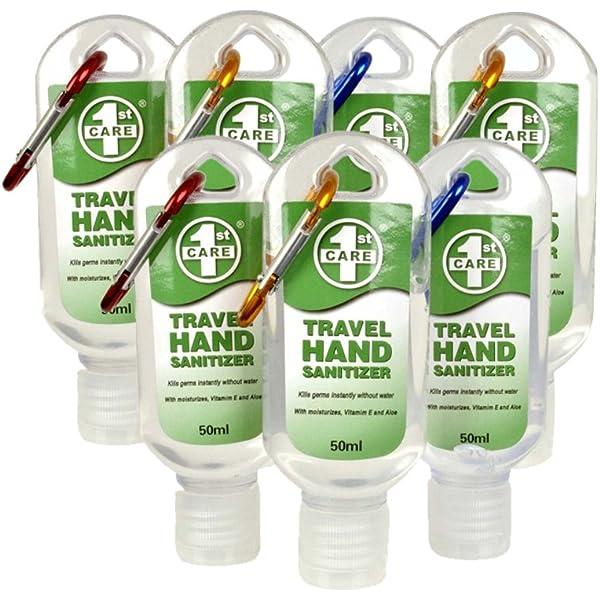 Travel Hand Sanitizer Set Of 7 Antibacterial Hand Sanitiser Gel