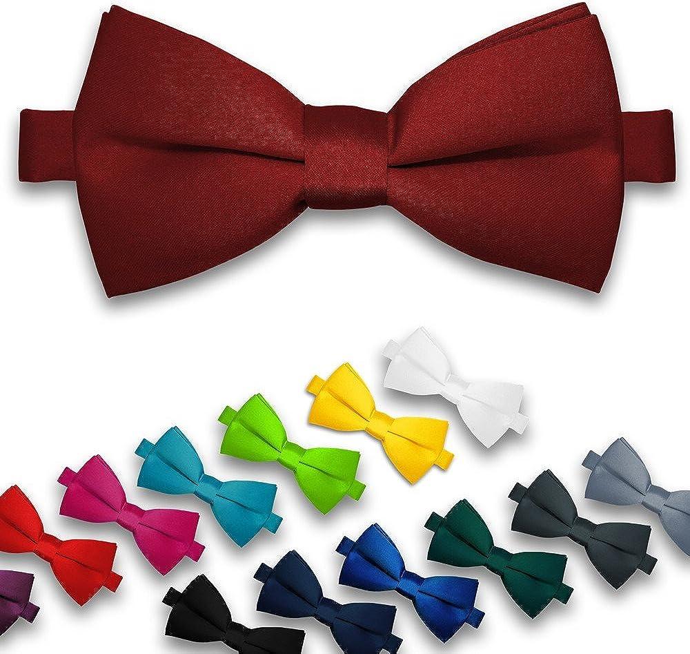 SoulCats/® Papillon per Uomo per Matrimonio o Fiocco Regolabile con Fiocco Regolabile di conferma