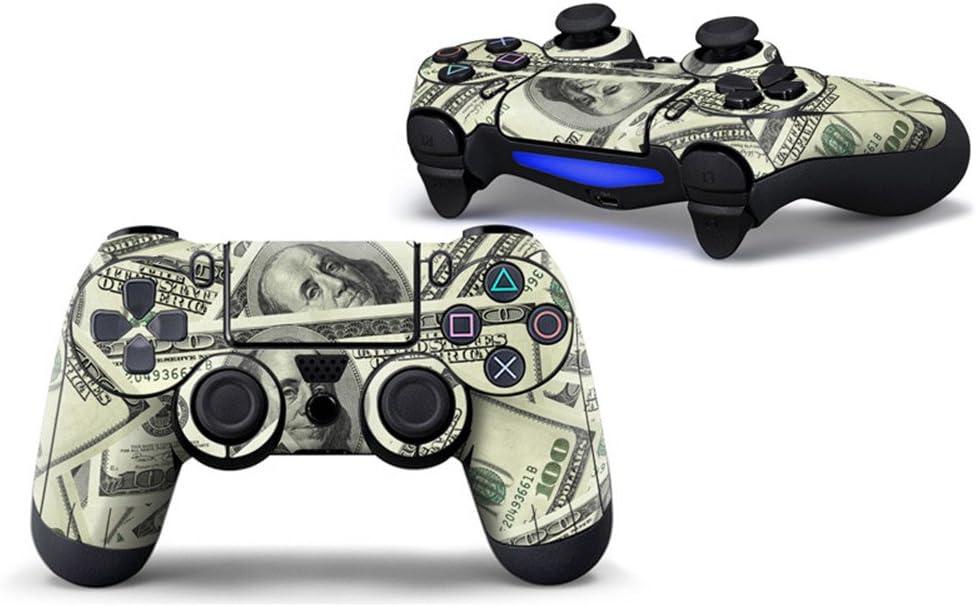 Morbuy PS4 Controller Skin Diseñador Piel Pegatina para Sony Playstation 4 PS4 Slim PS4 Pro DualShock Mando inalámbrico x 1 (US Dollar): Amazon.es: Electrónica