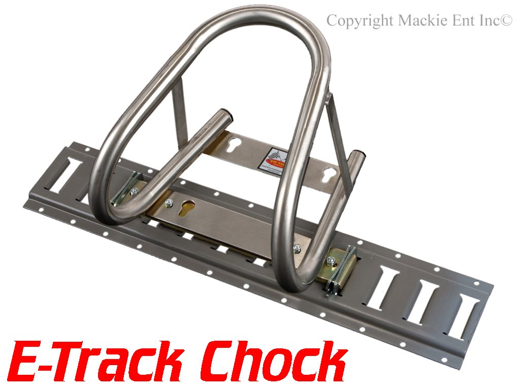 Marson USA 5.5'' Motorcycle Wheel Chocks T101-ETRACK - HDSS